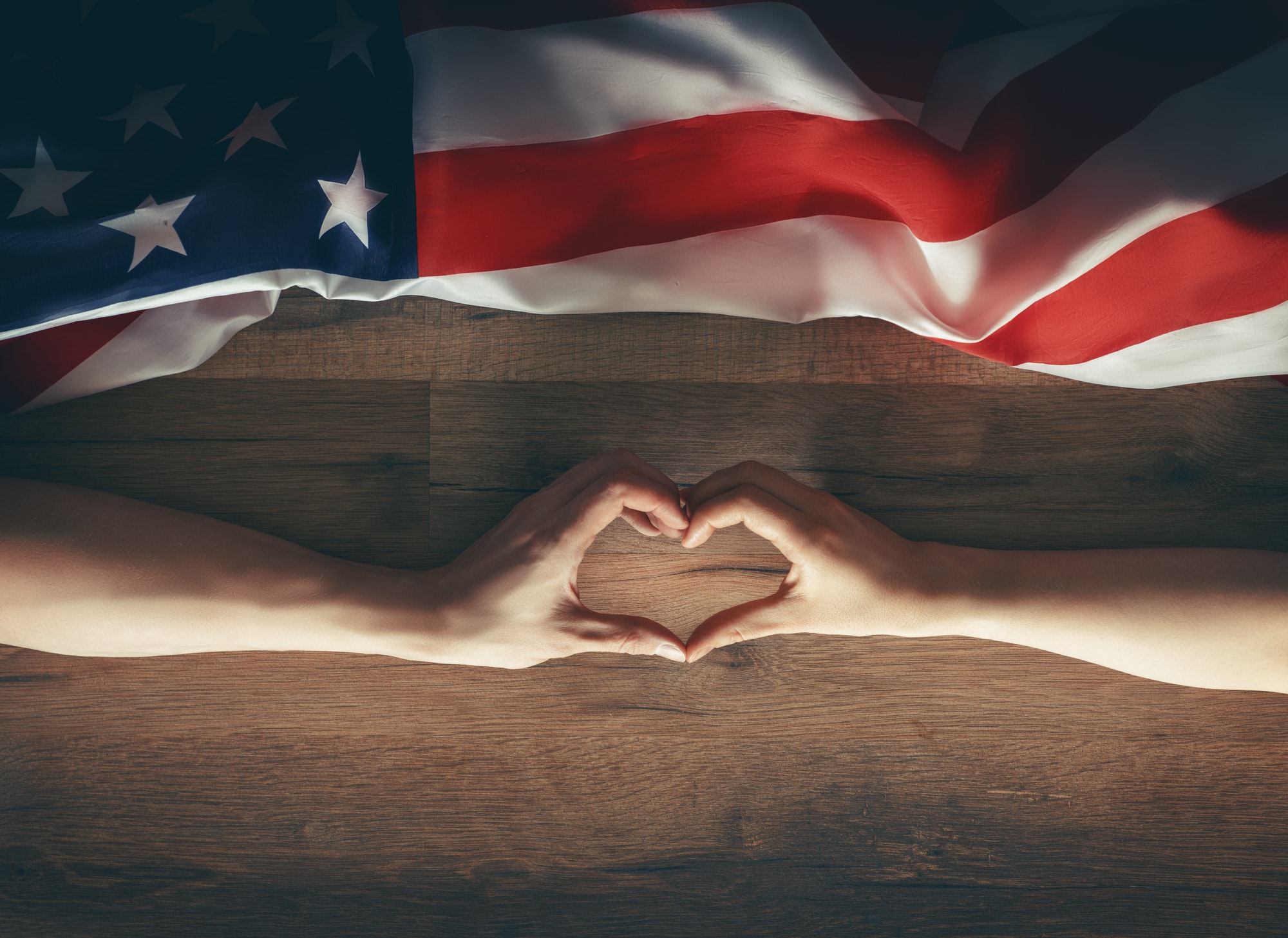Patriotic holidays of the USA.